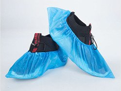 CPE disposable shoe cover-personal protective-equipment